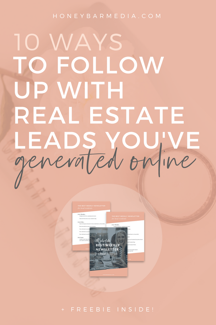 real estate lead, real estate lead follow up, real estate lead nurture